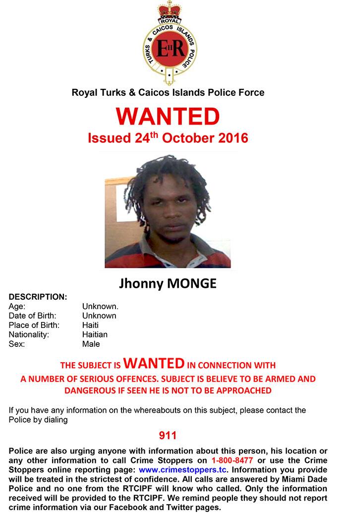 Wanted: Jhonny Monge